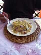 An amazing pasta dish