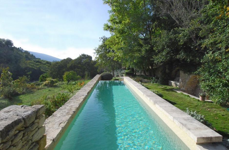 Nicole de vesian the long table for Pool design hillside