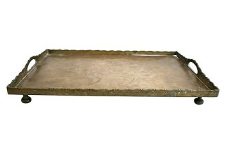 1. A Tray