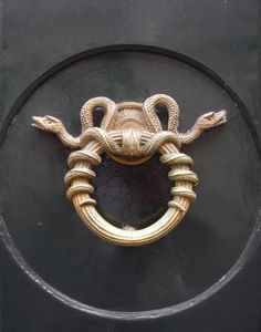 Serpent Door Knocker