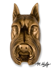 Schnauzer Door Knocker